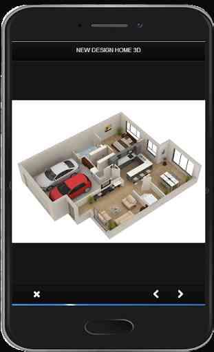 Nuevo diseño de hogar en 3D 4