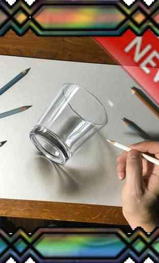 Diseño de dibujo 3D 1