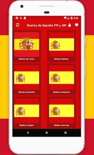 Radios de España - Radio FM España + Radio España 1