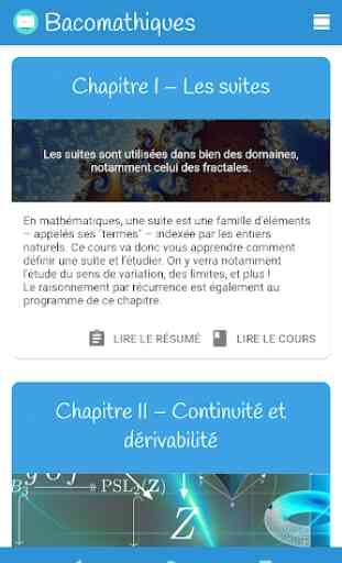 Bacomathiques – Cours de Maths (1ère & Terminale) 2