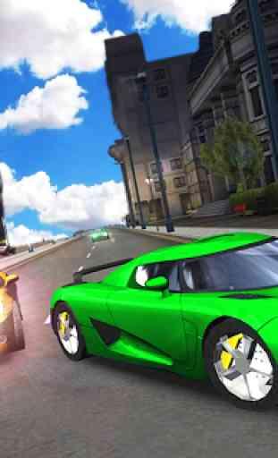 drive asfalto carro Xtreme simulador 3