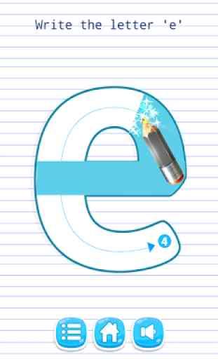 Aprender a escribir para niños 3