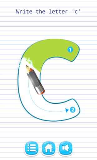 Aprender a escribir para niños 4