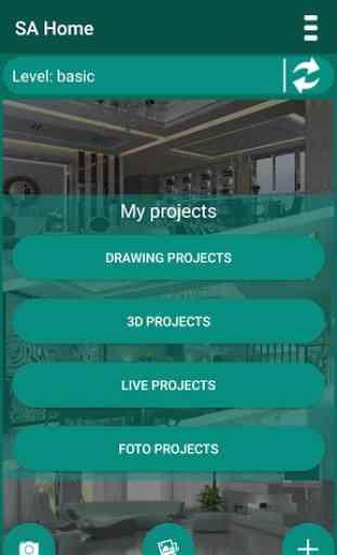 SA Home - diseño de casa 3D 1