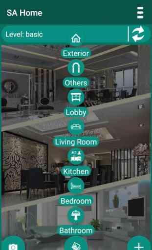 SA Home - diseño de casa 3D 2