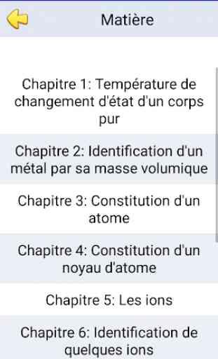 cours de physique chimie 3ème 3