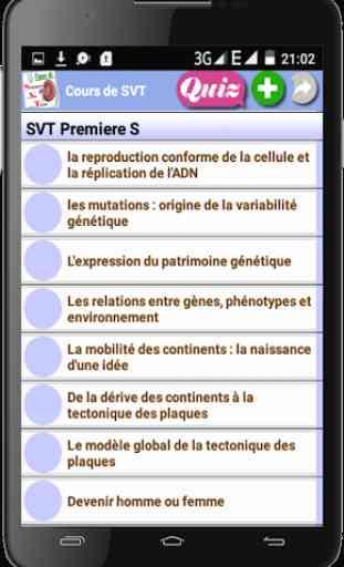 Cours de SVT 2