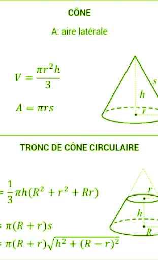 Fonctions et Formules mathématiques 4