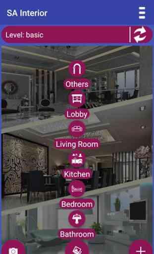 SA Interior - diseño de interiores 3D 3