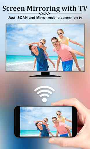 Screen Cast : Easy Screen Mirroring/Sharing App 1