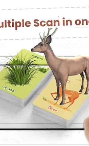 Animal AR 3D Safari Flash Cards 2