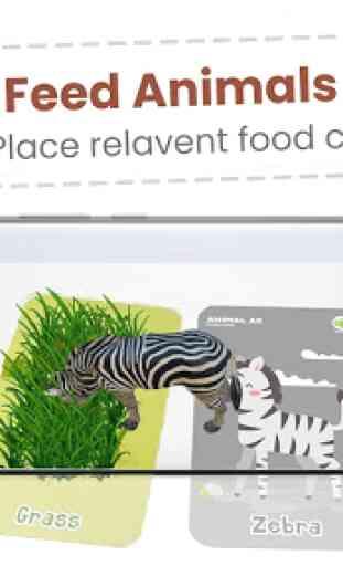 Animal AR 3D Safari Flash Cards 3
