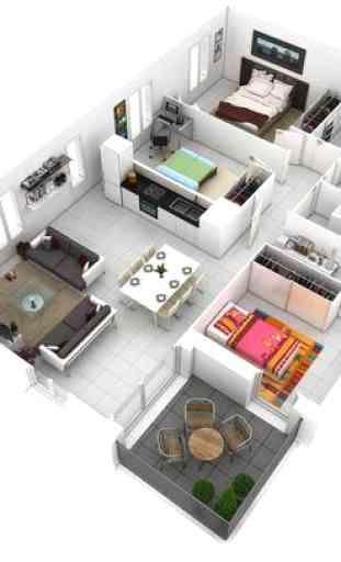 Interior Interior Ideas 3D 4