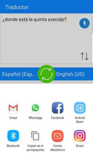 Traductor Android - Traduce Voz, Texto,Páginas Web 4