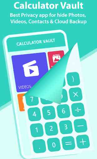 Calculator Vault- Photo & Video Vault Cloud Backup 1