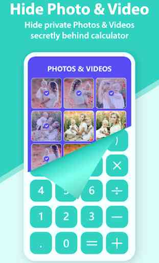 Calculator Vault- Photo & Video Vault Cloud Backup 2