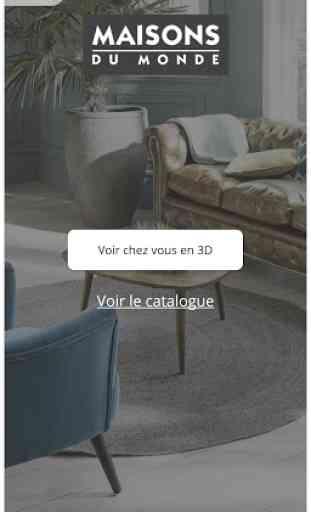Maisons du Monde 3D at home 2