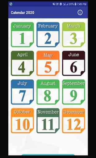 Calendar 2020 & Holidays 2