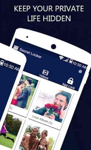 Foto, Video Locker-Calculator Photo & Video Vault 4