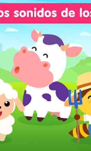 Sonidos de animales ~ Juegos educativos para niños 1