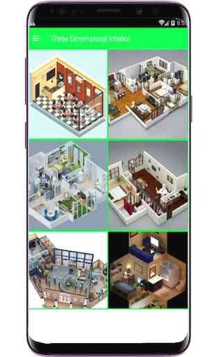 Diseño de interiores 3D 2