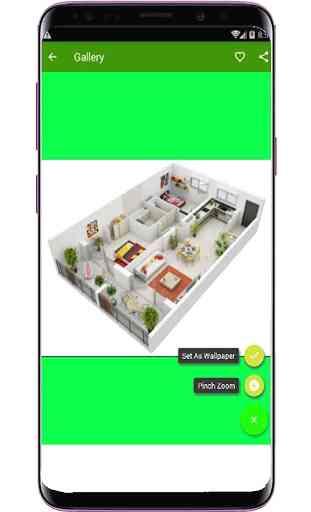Diseño de interiores 3D 4