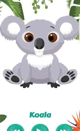 Abecedario con Animales Alfabeto Español Infantil 4