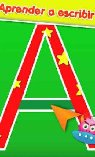 Alfabeto en Español para niños 2