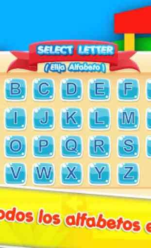 Alfabeto en Español para niños 3