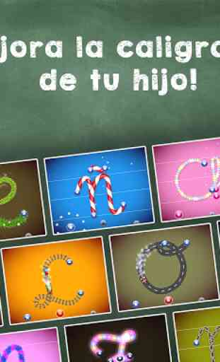 Aprender a leer y escribir! Juego de ABC alfabeto 1