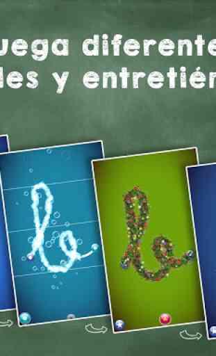 Aprender a leer y escribir! Juego de ABC alfabeto 2