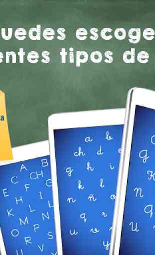 Aprender a leer y escribir! Juego de ABC alfabeto 3