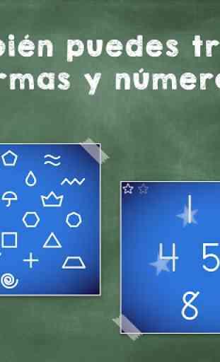Aprender a leer y escribir! Juego de ABC alfabeto 4