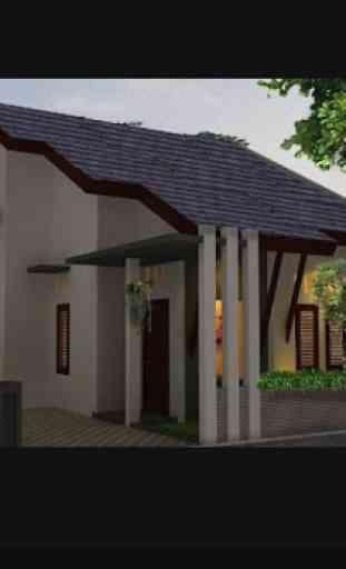 Casa de diseño en 3D 1