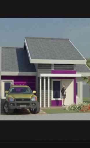Casa de diseño en 3D 2