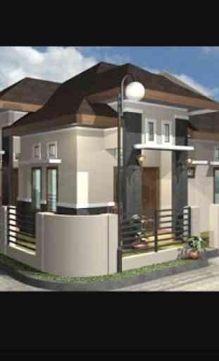 Casa de diseño en 3D 3