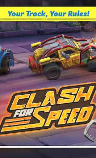 Clash for Speed – Xtreme Combat Car Racing Game 1