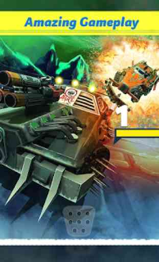 Clash for Speed – Xtreme Combat Car Racing Game 2