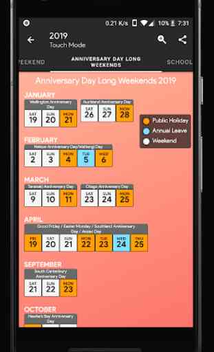 New Zealand Calendar 4