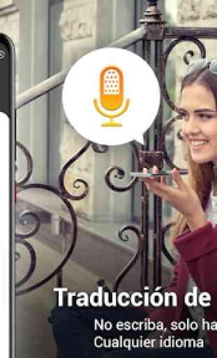 Todos los idiomas Traducir -Traductor de voz habla 2