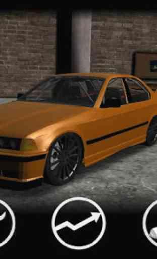 Drifting BMW Car Drift Racing 2