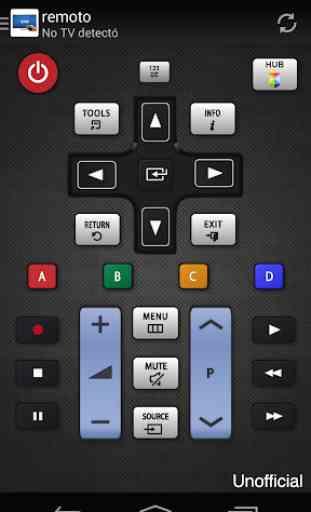 Remoto para televisor Samsung 1