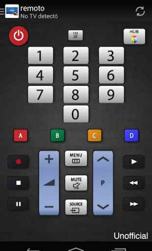 Remoto para televisor Samsung 2