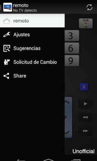 Remoto para televisor Samsung 3