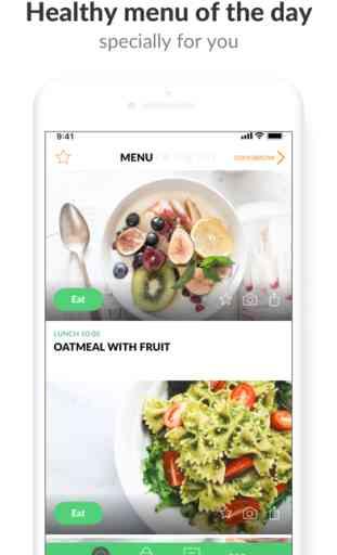 PEP: Comida Sana - cocina app 1