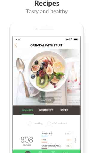 PEP: Comida Sana - cocina app 2