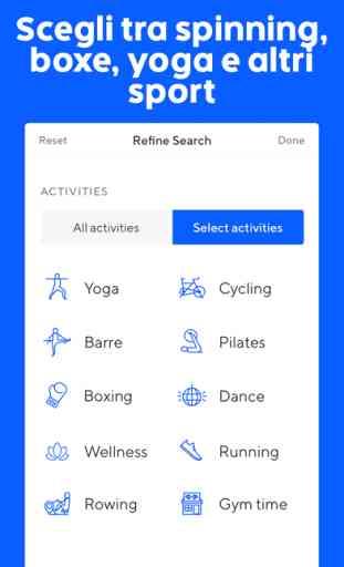 ClassPass: app de fitness 2