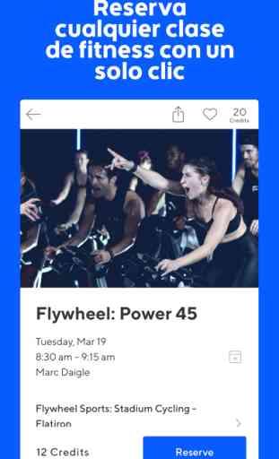 ClassPass: app de fitness 3